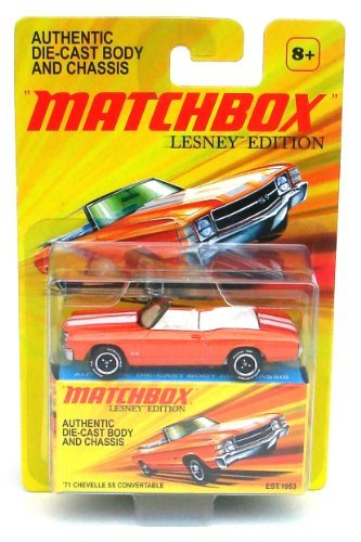 Matchbox 1971 Chevelle SS Convertable Die-Cast Vehicle Lesney Edition by Mattel