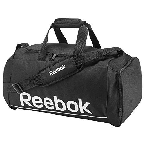 Reebook Spor Roy S Grip - Bolso unisex, color negro / blanco, talla única
