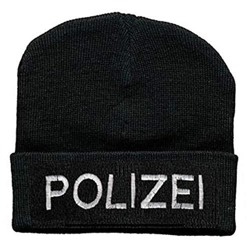 Fan-O-Menal Hip-Hop Mütze Polizei 50975 schwarz