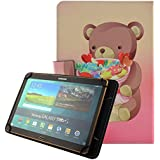 "[Universal Carcasa]Fundas y Carcasas Protector para Tablet BQ M10 10.1"", Yuntab K107 10.1"", BEISTA 10.1"", Alldaymall 10.1"", Chuwi Hi10/HiBook Pro 10.1"",Teclast X10 Plus 10,1"", SPC Glee 10.1"", Excelvan K107 10"",Woxter SX 220 10.1"", Dragon Touch X10 10.1"" Funda Flip Cover Case-Oso"