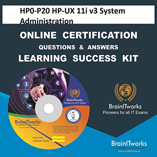 HP0-P20 HP-UX 11i v3 System Administration Online Certification Learning Made Easy V3-system