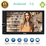 Eincar Car Stereo Android 7.1 octa core 2 GB di RAM 32 GB ROM 7' In Dash 2 schermata di navigazione Player Ricevitore GPS touch Din Support Unit Radiohead OBD / specchio Link / 4G in grado di supportare Camera