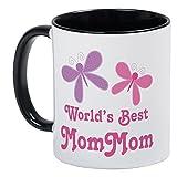 CafePress–Beste mommom Schmetterling Tasse–Einzigartige Kaffee Tasse, Kaffeetasse, Tee - Best Reviews Guide