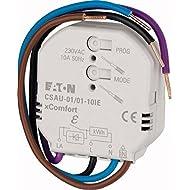 Eaton xComfort radio attuatore 10A e locale ingresso con misurazione energia, CSAU-01/01–10ie (172939)