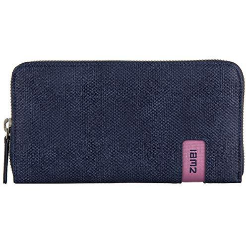 Zwei Mademoiselle Wallet Damengeldbörse 19 cm, canvas-blue