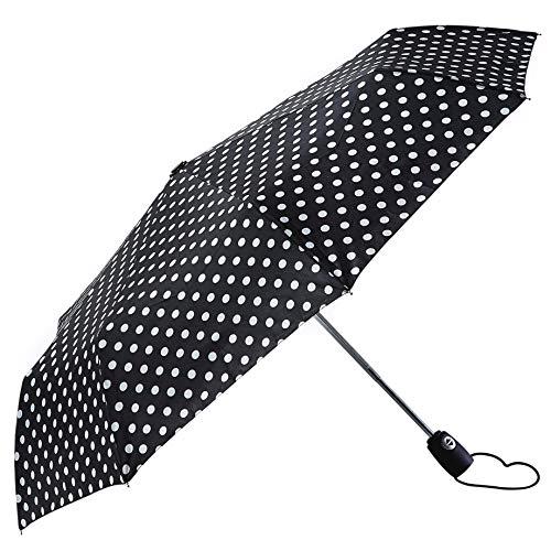 Bolero ombrelli - ombrello da pioggia mini pieghevole antivento di alta qualità - apertura e chiusura automatica open-close - tessuto pongee 190t - portatile e tascabile