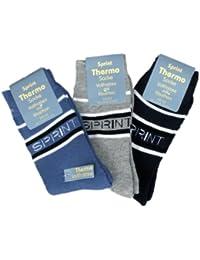 6 Paar Damen Thermo Socken - Vollfrottee