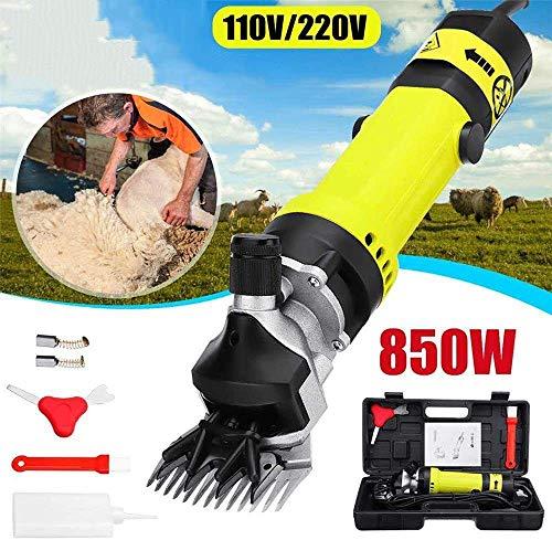 CHEIRS 850w Tragbare Schermaschine Für Schafe, Professionell Elektrische Schafschermaschine Schaf Für Ziegen, Alpaka, Lamas, Pferde, Rinder