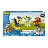 Paw Patrol Action Pup Niño/niña 3pieza(s) - Kits de figuras de juguete para niños (3 año(s), Niño/niña, Multicolor, Animales, Patrulla Canina, China)