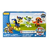Paw Patrol Action Pack Pups 3pk Online Exclusive 2 (Rocky, Zuma, Chase) - Kits de figuras de juguete para niños (Zuma, Chase), 3 año(s), Multicolor, Niño/niña, Animales, Patrulla Canina, China)