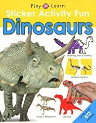 Dinosaurs with Sticker (Play and Learn)