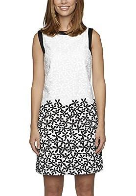 APART Fashion - Vestido blanco y negro