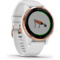 Garmin Vívoactive, Slim, Waterproof, GPS Fitness Smart Watch with Training Plans and Animated Exercises, 20 Sports Apps…