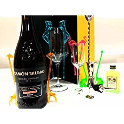 Vino Ramón Bilbao Rioja Edición Limitada 2013 en Cofre Dorado - Un Regalo Espectacular y Diferente