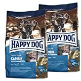 2 x 4 kg Happy Dog Supreme Sensible Karibik