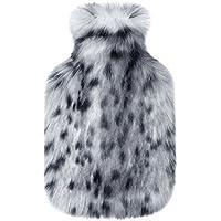 Bezug Wärmflasche mit Helen Moore Luxus Kunstfell Kunstfell in Arctic Leopard preisvergleich bei billige-tabletten.eu