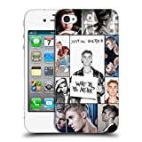 Official Justin Bieber Grid Poster Purpose Hard Back Case for Apple iPhone 4 / 4S