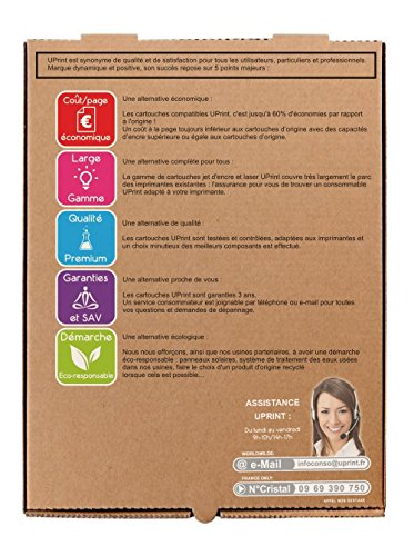 HP - D8J10A - NOIR - Grande Capacité - Economique - Qualité équivalente à la cartouche d'origine - Garanties et Assistance - Le Meilleur rapport Qualité/Prix - Expédié depuis la FRANCE