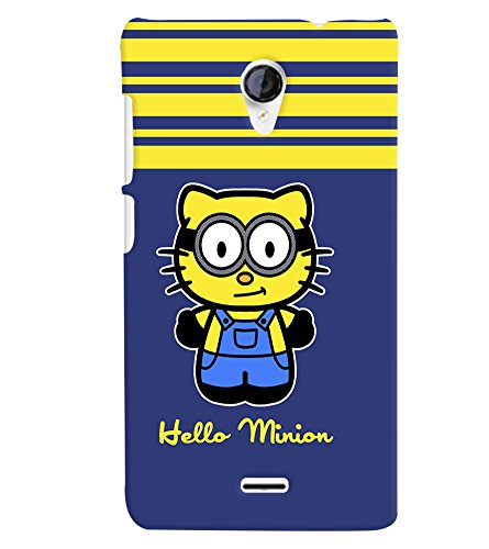 printtech Minion Back Case Cover for Micromax Canvas Unite 2 A106