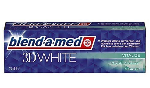 Blend-a-med 3DWhite Vitalize, 6er Pack (6 x 75 ml)