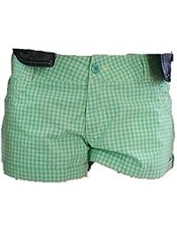 BenchDamen jean pour homme-couleur :  vert/carreaux