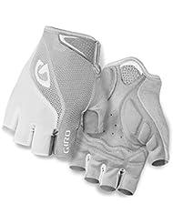 Giro Herren Handschuhe Bravo Gel, White/Silver, S, 7058974