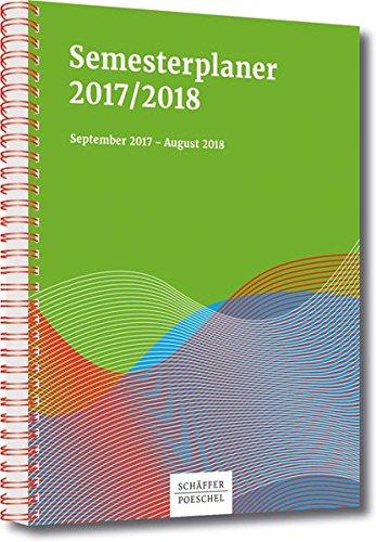 Semesterplaner 2018/2019: September 2018 – August 2019