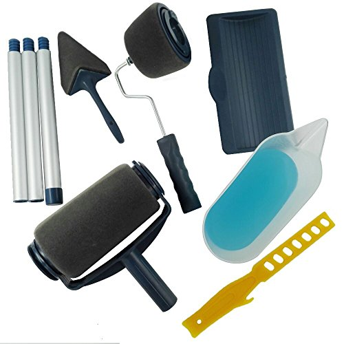 Yukaki® 9pcs set di rullo per pittura (blu)