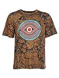 Dries van Noten Herren 211076603203203 Braun Baumwolle T-Shirt
