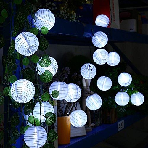 Qedertek Guirnaldas Luces Exterior Solares Farolillos