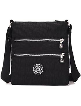 Outreo Umhängetasche Damen Schultertasche Leichter Messenger Bag Reisetasche Wasserdicht Taschen Designer Kuriertasche...