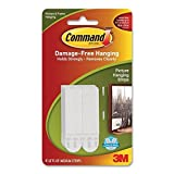 2 X Command Medium Picture Hanging Strips, 17201 4pk ( 4 Sets) by Command
