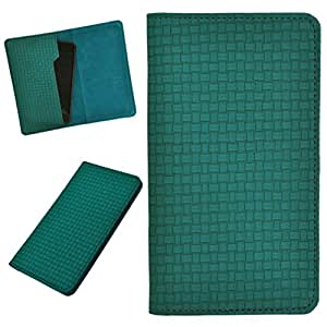 DCR Pu Leather case cover for Micromax Bolt A40 (green)