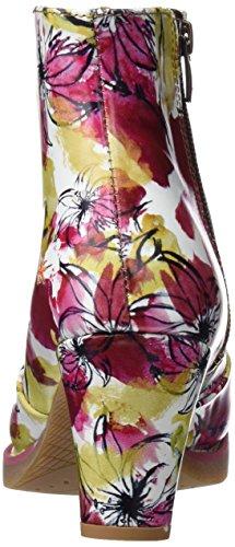 ART 1073 Fantasy St.Tropez, Stivaletti Donna Multicolore (Flowers)