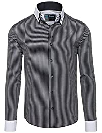 BOLF - Chemise casual – avec manches longues – Homme