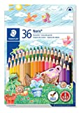Staedtler Noris Club 144 36-Piece Colour Pencil Set in Case