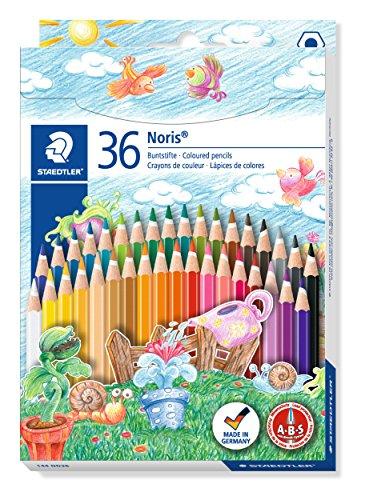 Staedtler 144 ND36 - Buntstifte Noris Club, 36 Farbstifte