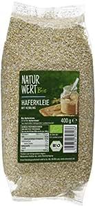 Naturwert Bio Haferkleie , 8er Pack (8 x 400 g) - Bio