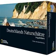 Deutschlands Naturschätze in 53 Bildern: Tischkalender mit immerwährendem Wochen-Kalendarium