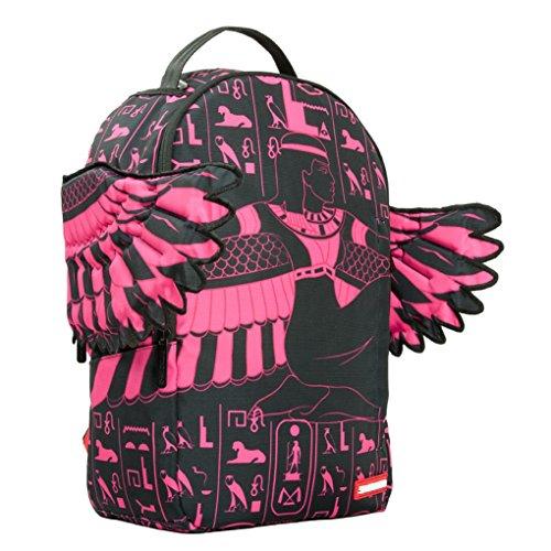 Pink Removable Sprayground Wings Tasche Rucksack Goddess Dlx On0w8Pk