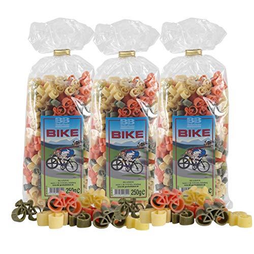 """3er Set Fahrrad-Nudeln \""""Pasta Bike\"""""""