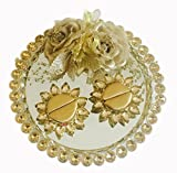 Loops n knots Golden Classic Collection Wedding /Engagement Ring Platter