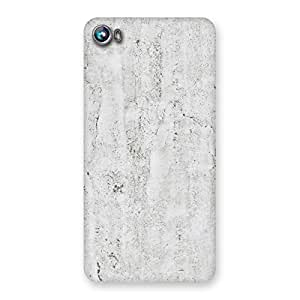 Neo World Light Grey Marble Pattern Back Case Cover for Micromax Canvas Fire 4 A107