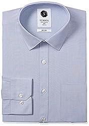Symbol Men's Formal Fil-a-Fil Slim Fit Shirt
