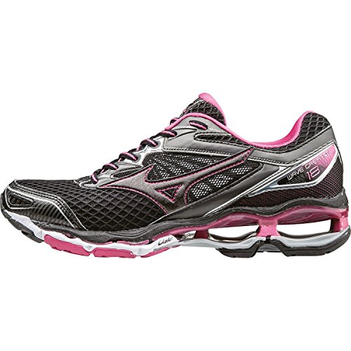 Mizuno Wave Creation 18 (W) Black/Black/Fuchsia Purple