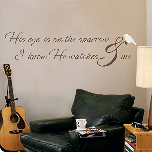 mairgwall-inspirational-quote-his-eye-is-on-the-sparrow-script-lettering-vinyl-with-bird-accent-deca