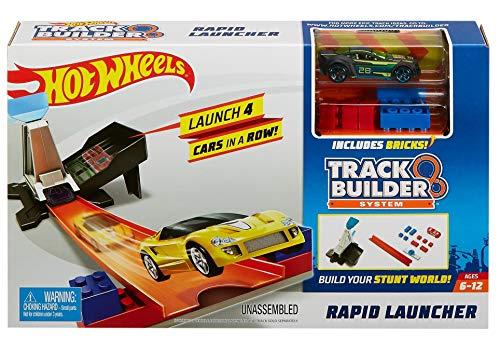 Hot Wheels Lanzador Veloz, Pista de Coches de Juguete Mattel DWW94