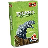 Asmodée Juego de Cartas Dino Challenge, Color Verde DIN01