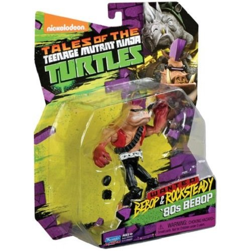 Turtles Action Figuren Bebop in 80 's gewandungen (Teenage Mutant Ninja Turtles Ratte)