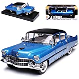 alles-meine GmbH Cadillac Fleetwood Serie 60 Limousine Blau Elvis Presley 1955 1/18 Greenlight Modell Auto